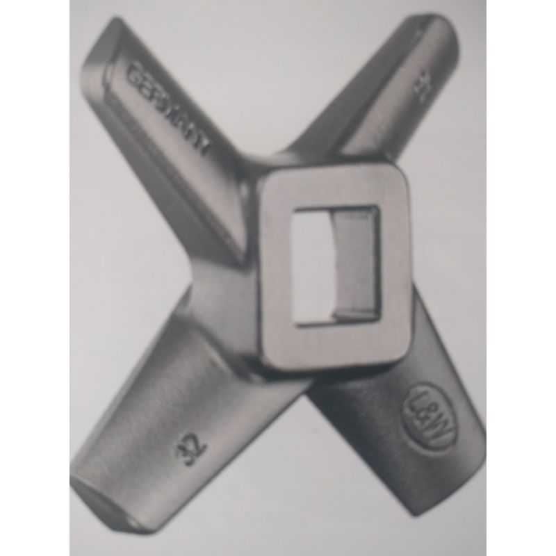 Single Cross knife Meat grinder one-sided Grinding