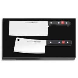 Chinese chef's knife & Knife sharpener