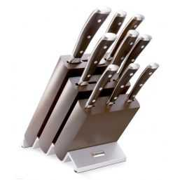 Knife block with 9 Parts Ikon