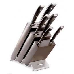 Knife block with 6 Parts Ikon