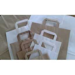 Paper carrying Bags White 260x170x260mm