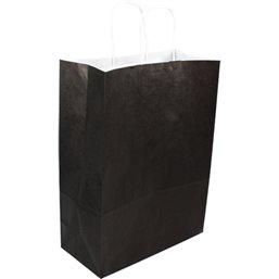 Draagtassen Papier Zwart 260 x 120 x 350mm