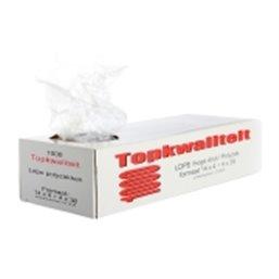 Poly bags LDPE 16x5+5x35cm  - Horecavoordeel.com
