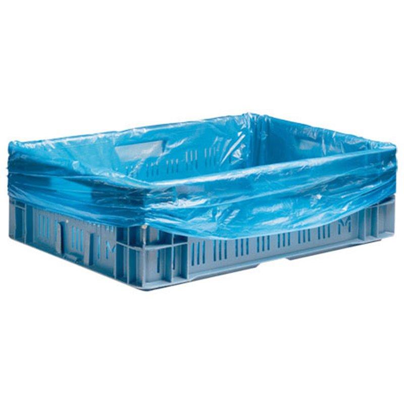 Crate bags 60-20x80cm Blue 8my  - Horecavoordeel.com