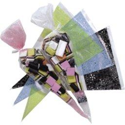 Plastic Pointed bags 500 Gram - Horecavoordeel.com