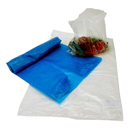 Polyethylene bags 43x75cm Transparent 80my