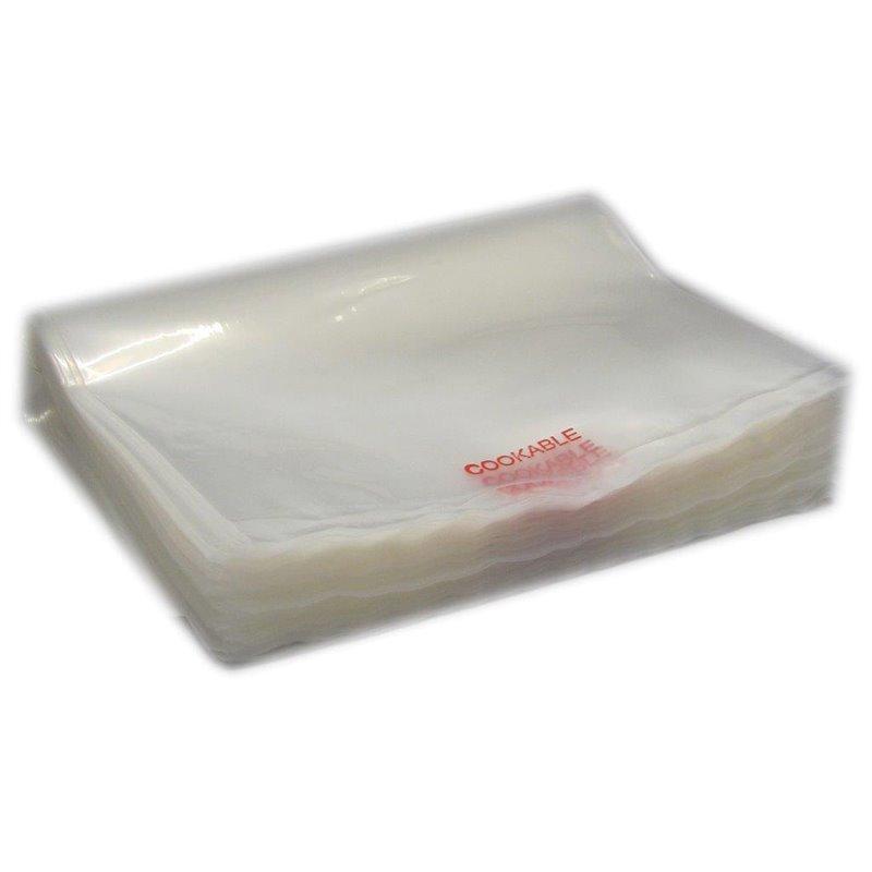 Vacuüm - Kookzakken 100my 200 x 400mm (Klein-verpakking) Horecavoordeel.com
