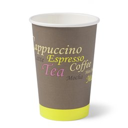 Coffee To go Paper Cup  Limetta 8-9oz (80mm) 250cc (Small package)  - Horecavoordeel.com