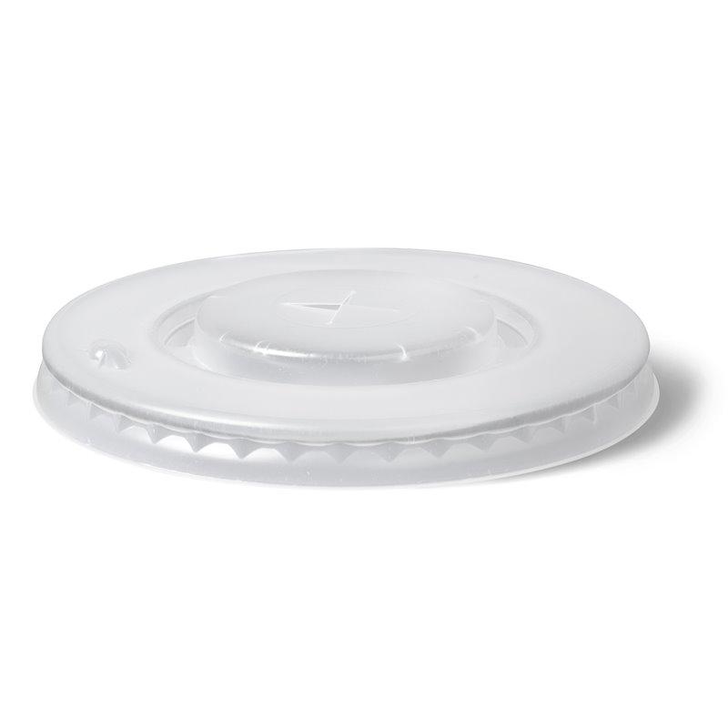 Deksels voor Milkshake Bekers met Kruisgat Ø 90mm (Klein-verpakking) Horecavoordeel.com
