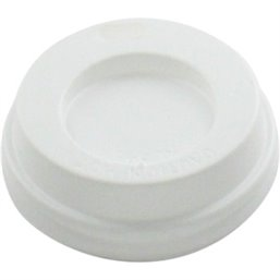 Lid for Coffee To go Cup white 4oz (Small package) - Horecavoordeel.com