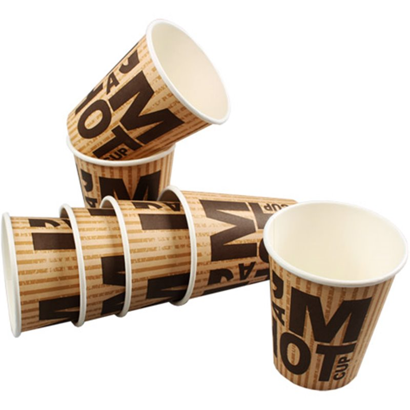 Coffee To go Paper Cup  I'm A Hot Cup 8oz-250cc (Small package) - Horecavoordeel.com