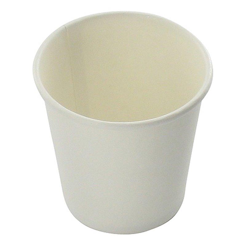 Koffiebekers To Go 100cc 4oz Wit Karton (Klein-verpakking) Horecavoordeel.com