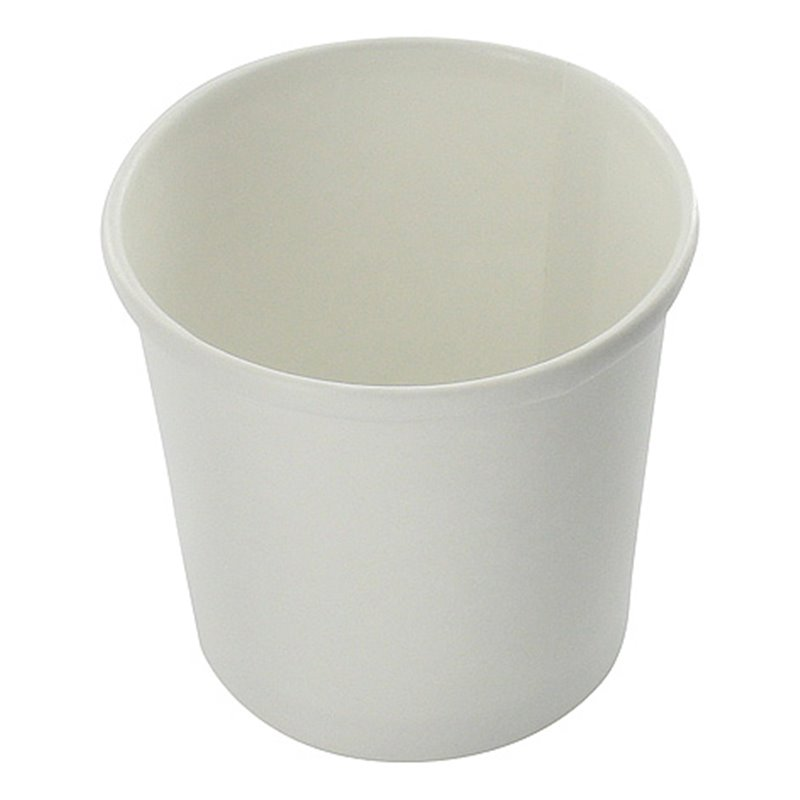 Paper Soup Cup white 300cc-12oz white (Small package) - Horecavoordeel.com