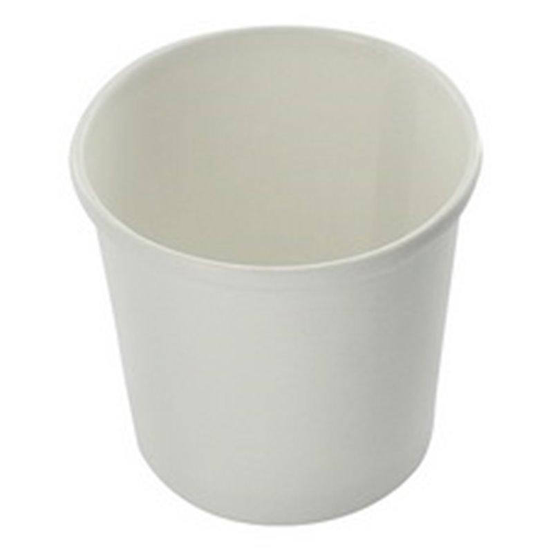 Paper Soup Cup White 300cc-12oz White - Horecavoordeel.com