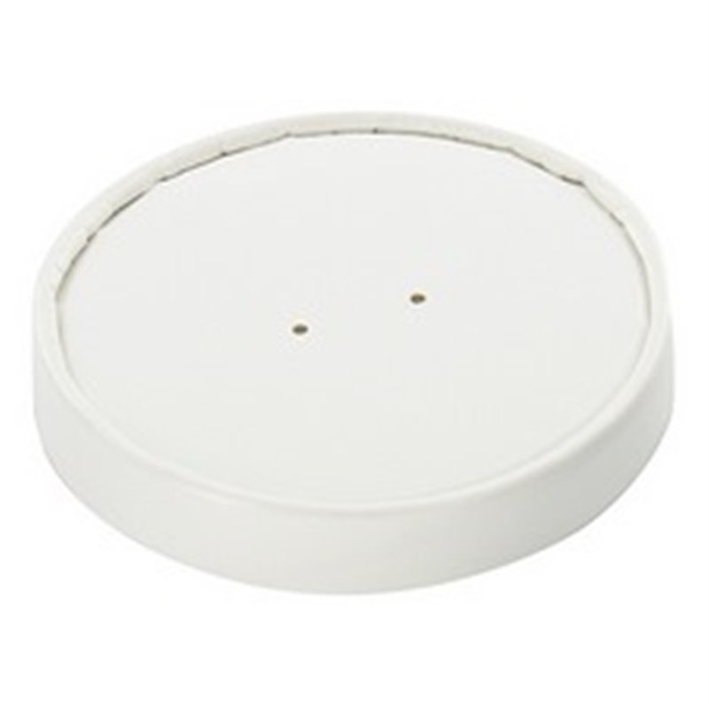 Lid for Paper Soup Cup White 32oz  - Horecavoordeel.com