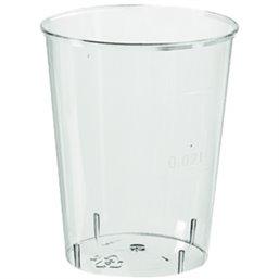 Borrel - Shot Glazen 20cc Zonder Voet (Klein-verpakking)