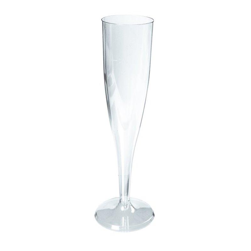 Champagne flute 100cc transparent (Small package) - Horecavoordeel.com