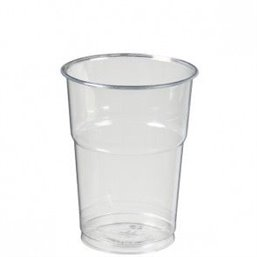 Beer glass Transparent 400cc (Small package)