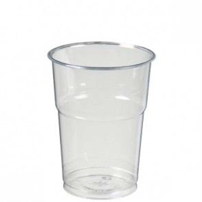 Beer glass Transparent 400cc (Small package) - Horecavoordeel.com
