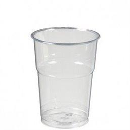 Beer glass Transparent 400cc