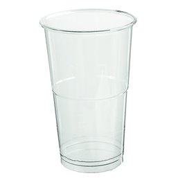 Beer - Lemonade Cup 250cc Glass transparent with Collar