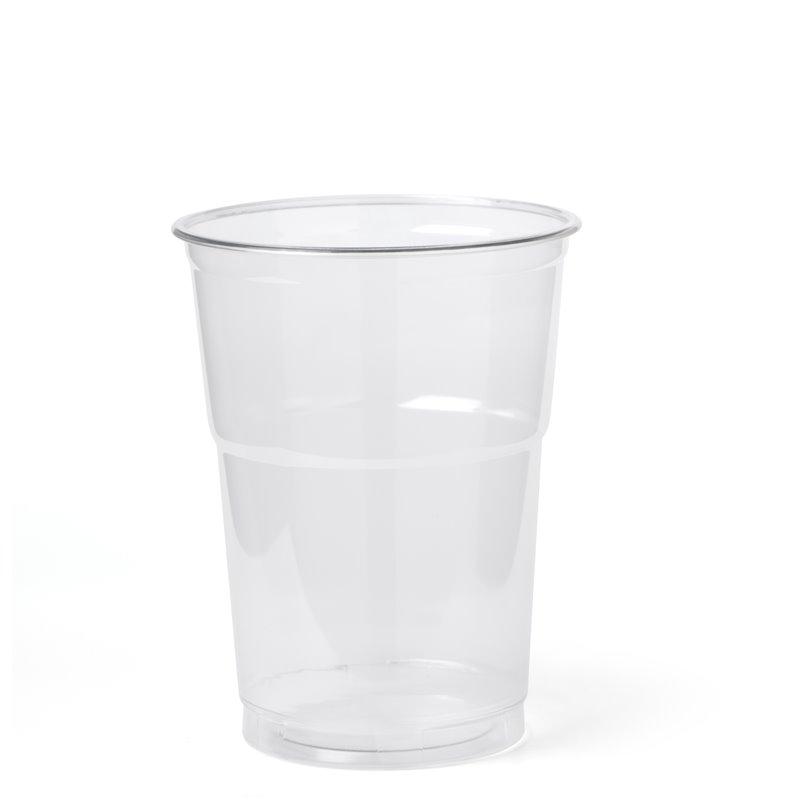 Juice Cup transparent 473cc 95x130mm (Small package) - Horecavoordeel.com