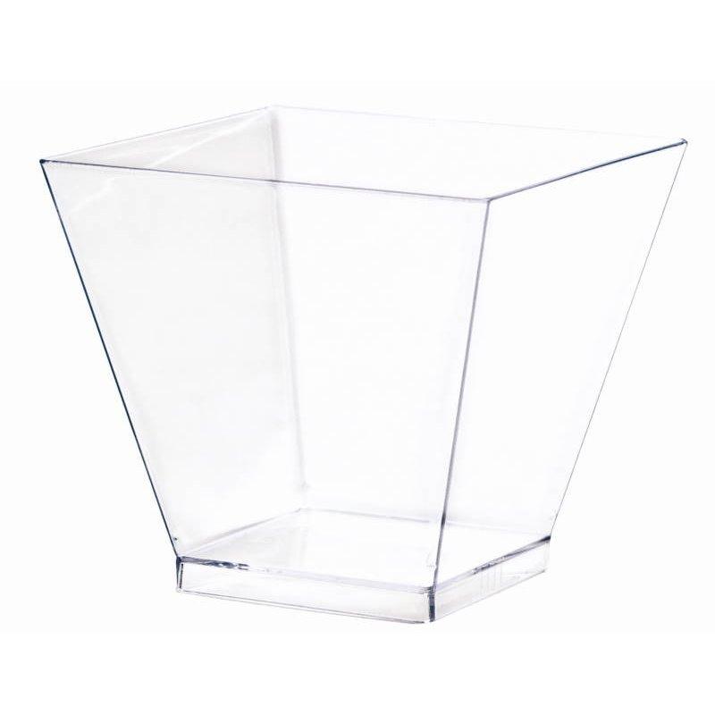 Kova Bakje Transparant 60ml 50 x 50 x 45mm (Klein-verpakking) Horecavoordeel.com