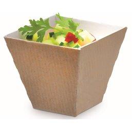Kova Tray Cardboard 6cl 50x50 H45mm (Small package) - Horecavoordeel.com