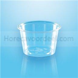 Sauce cup 100cc Round 70,3mm Transparent Proppy  - Horecavoordeel.com