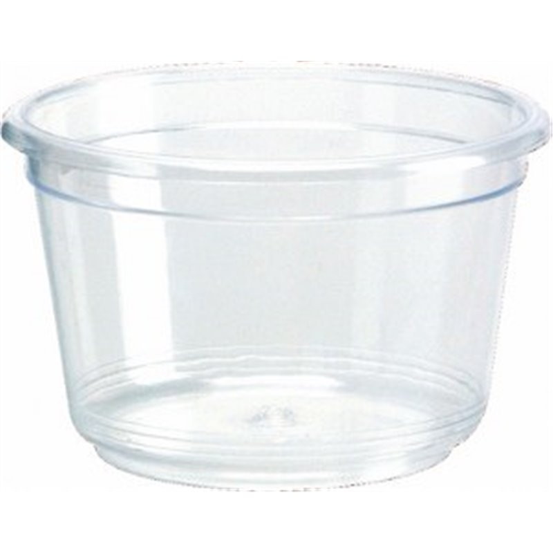Butter cup 30cc Round Transparent Proppy - Horecavoordeel.com