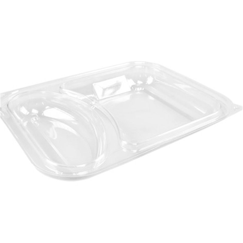 Lid For Meal tray Hot Deli Luxe 2 compartment - Horecavoordeel.com