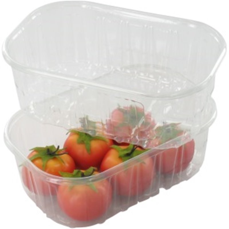 Strawberries Tray 143x095x50 Transparent 250cc - Horecavoordeel.com