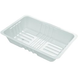 Bami/Nasi Tray White A50-60 750cc 204x144x39mm (Small package)