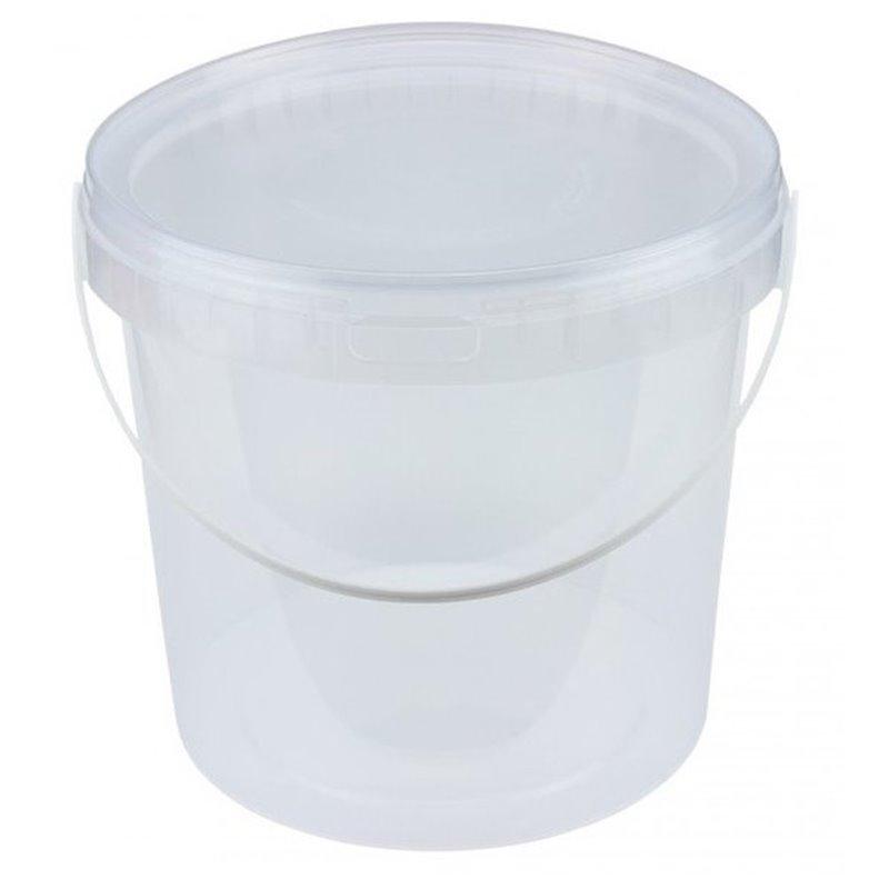 Buckets Transparent 5 Liter with Handle (Small package) - Horecavoordeel.com