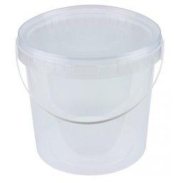 Emmers Transparant 5 Liter met Hengsel