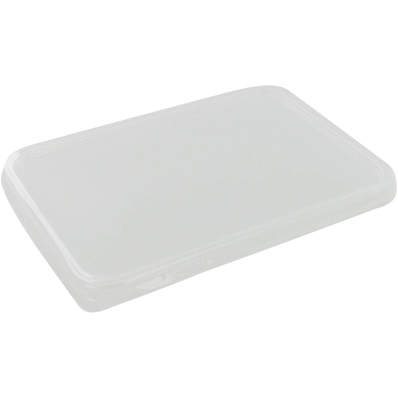 Microwave Meal containers - Bins Lids 182 Series 183x135 PP Transparent (Small package) - Horecavoordeel.com