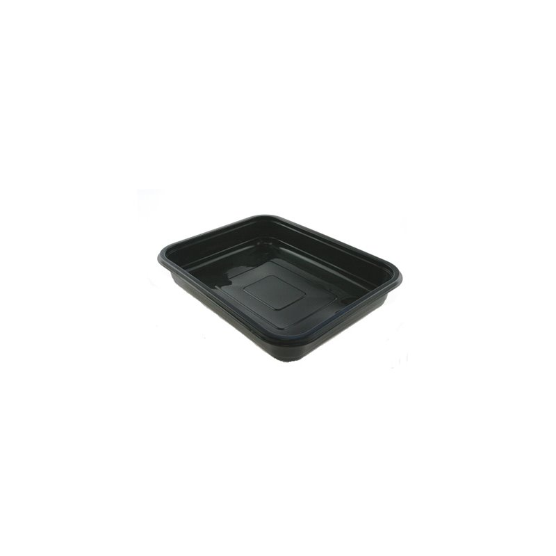 H320 Containers - Bins Np Series 50mm Spg PP 2800cc Black (Small package) - Horecavoordeel.com
