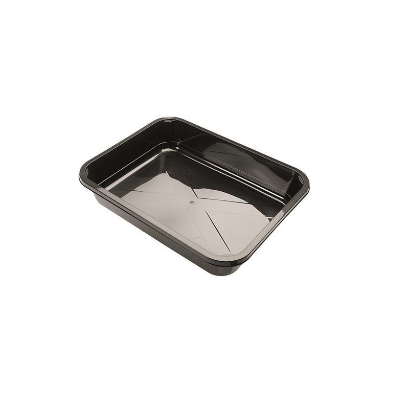 H320 Containers - Bins Series 60mm Spg PP 3300cc Black (Small package) - Horecavoordeel.com
