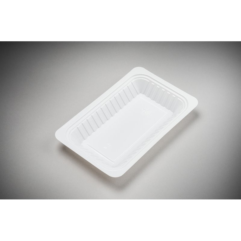 Snack Tray V3 500cc White 204x144x22mm - Horecavoordeel.com