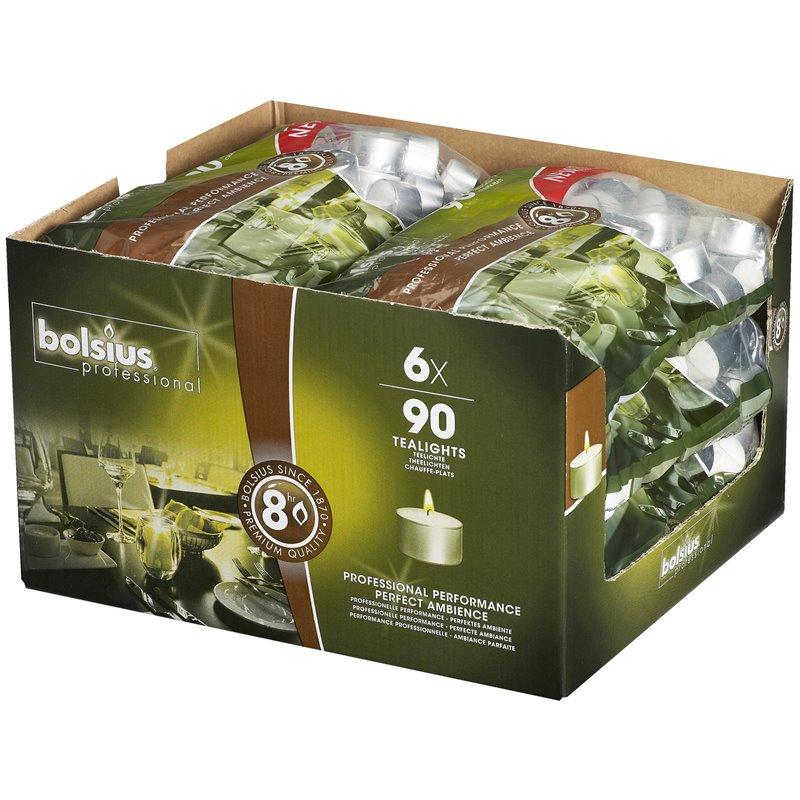 Tea lights Bolsius 8 Hours  - Horecavoordeel.com