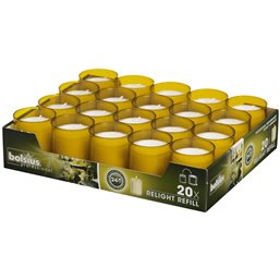 Refills Kaarsen Amber Bolsius (Kleinverpakking)