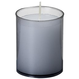Refills Candles Grey Bolsius