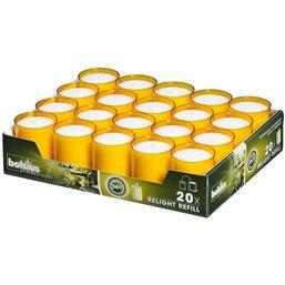 Refills Kaarsen Oranje Bolsius Horecavoordeel.com
