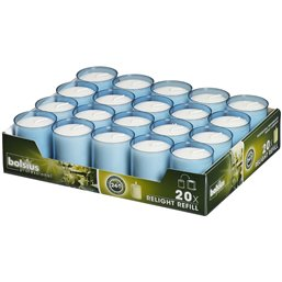 Refills Candles Aqua Bolsius - Horecavoordeel.com