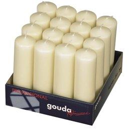 Pillar Candles 180x50mm Ivory