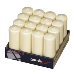 Pillar Candles 170x60mm Ivory