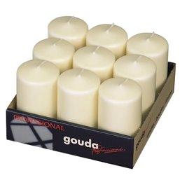 Pillar Candles 130x70mm Ivory