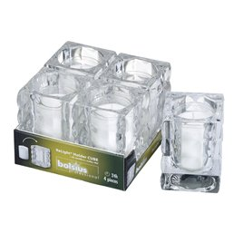 Refill Holder Cube 98x71mm Transparent  - Horecavoordeel.com
