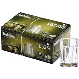 Refill Houders Square Transparant