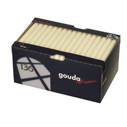 Dinner Candles 240x22mm Ivory Golda